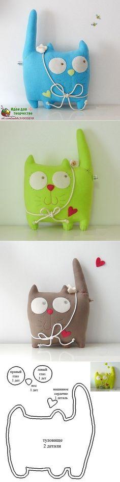 Шьем котиков. | Игрушки | Постила