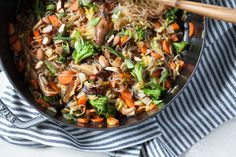 Gluten-Free Asian Noodle Stir-fry recipe | Against All Grain - Delectable paleo recipes to eat & feel great