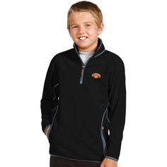 North Alabama Lions Antigua Youth Ice Quarter-Zip Jacket - Black - $35.99