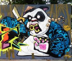 Dope character delivery from @katun_ in #malaysia #globalstreetart (http://globalstreetart.com/katun)