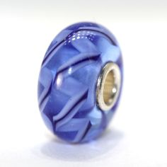 Trollbeads with a Twist! Just listed this Clear Blue Braid has a twist to it-can you see it?   http://www.trollbeadsgallery.com/categories/Standard-Trollbeads%3A-But-with-a-Twist%21/