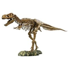 Amazon: three-foot long T-Rex model. Until Isla Nublar reopens, this will have to do.