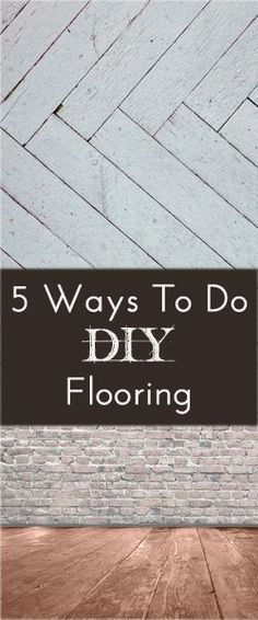 flooring a little easier and cheaper: Plywood Sheeting – This technique involves cutting plywood into strips and then gluing and laying them down. Then stain them in the color you want. You can see a great example … Do It Yourself Furniture, Diy Furniture, Painted Furniture, Diy Projects To Try, Home Projects, Do It Yourself Design, Diy Flooring, Cheap Flooring Ideas Diy, Modern Flooring