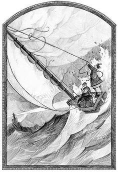 lemony snicket illustrator - Google Search