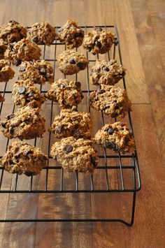 Healthy, vegan breakfast cookies