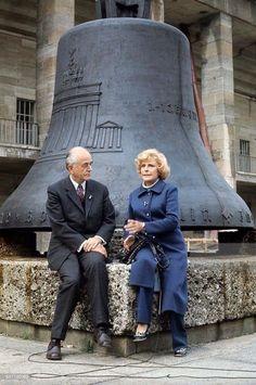 Albert Speer and Leni Refeinstall