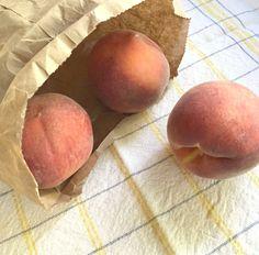 Ripen Peaches in a Bag
