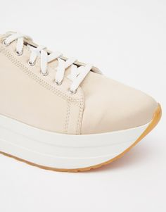 Image 2 of Vagabond Casey Champagne Double Sole Trainers