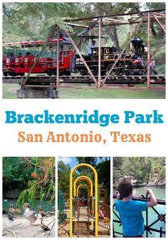 Brackenridge Park in San Antonio, Texas