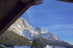 Vista dall'Hotel Cima Rosetta