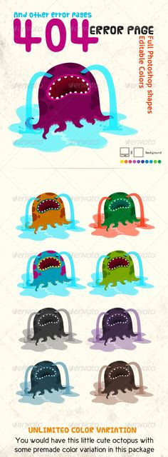 Octopus - 404 error page -