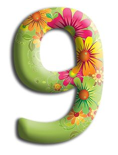 9   Number    ‿✿⁀    .... my number ...