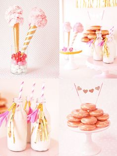 Peek It Magazine » » Sweet table St Valentin