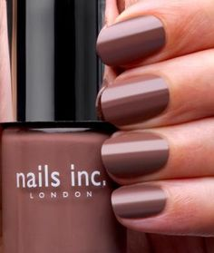JERMYN STREET =  is a soft luxurious taupe shade. Jermyn Street is nails inc's bestselling shade and is the original 'greige' colour.