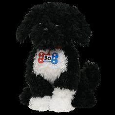 Bo Portugese Water Dog Obama's Puppy Beanie Boos #Beanie #Babies #Buddies #Ty #StuffedAnimals #Toys Stuffed Animal