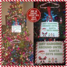 """Elf On The Shelf - Day 14: AppleJack is just """"hanging"""" around until Santa arrives! #ElfOnTheShelf"""