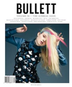 14 year old actress Elle Fanning gets arty for the winter issue of Bullett Magazine, shot by Pierre Debusschere.