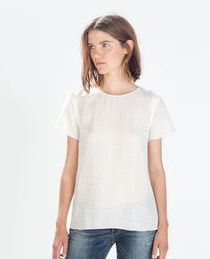 Image 1 of SILK TOP from Zara