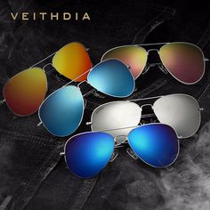 74b8eca05cdf6 2016 New VEITHDIA Brand Designer Polarized Men Women Sunglasses Vintage  Fashion Driver Sun Glasses gafas oculos de sol masculino