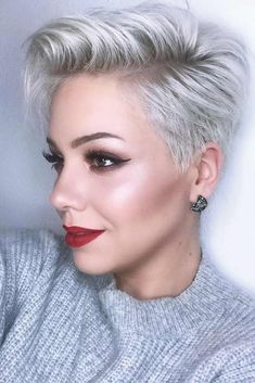 Side Part Hairstyle for Short Hair