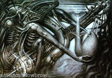 Sci Fi art by HR Giger -- Pic found on Arts Backstage. Chur, Xenomorph, Fantasy Paintings, Fantasy Art, Hr Giger Art, Science Fiction, Giger Alien, Artistic Wallpaper, Non Plus Ultra