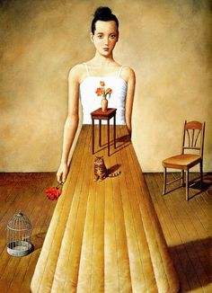 Surrealism Rafal Olbinski's adventure world