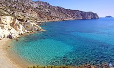 The most southern beach of Chios, Km from Pyrgi, next to Mavra Volia. Small sandy bay ideal for sunbathing. Most Beautiful Beaches, Beautiful Places, Costa, Chios Greece, Best Holiday Destinations, Tourism Day, Secluded Beach, Countries Of The World, Greek Islands