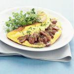 Questa omelette soufflé agli champignon si riempie dei delicati profumi di terra dei funghi champignon. Prova la ricetta di Sale