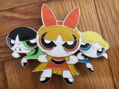 Powerpuff girls belt buckle metal  #Unbranded #Casual