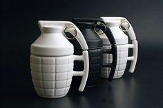 Grenade mug   Creative mug designs   Bored Panda