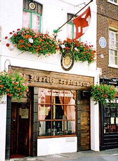St Moritz, Soho, London. Who can resist a bit of fondue when the temperature drops. Can recommend the house red, don't forget to ring one of the bells before you leave!