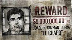 El Chapo Reward Poster.