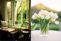 SOUND: http://www.ruspeach.com/en/news/1480/     Доброе утро! [dòbraje ùtra] - Good morning!  весна [visnà] - spring  природа [priroda] - nature  цветы [tsvit`y] - flowers  тепло [tiplo] - warm  хорошо [kharasho] - nice     www.ruspeach.com