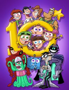 The Fairly Odd Parents~Group Picture