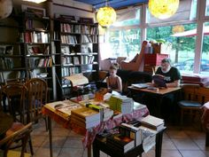 Tarabuk Bookstore-Café, Browarna 6, Warszawa, Poland