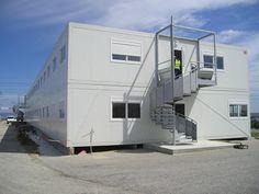 #Construction #modulaire à usage de bureaux par #Legoupil #industrie.