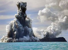 March 19, 2009 an undersea volcanic eruption in Tonga generated a five-hour tsunami watch across the Pacific Basin.