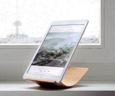 Yohann #iPad Air 2 Stand  Lightweight design you can carry on the go! #iPadstand #productdesign