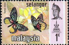 Salengor 1971 Butterflies SG 146 Fine Mint SG 146 Scott 146 Other British Commonwealth Empire and Colonial stamps for sale Here