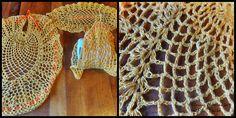 Juego de baño tejido a crochet y almidonado $5.000 <3
