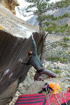 www.boulderingonline.pl Rock climbing and bouldering pictures and news LEARNING THE SECRET