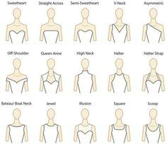 dress shapes - Google Search