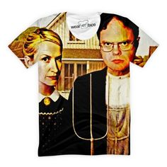 The office just went retro. Dwight Schrute & Angela Martin get back to their…More Pins Like This At FOSTERGINGER @ Pinterest