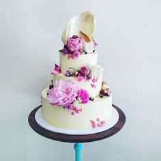 """Today's wedding cake..."""