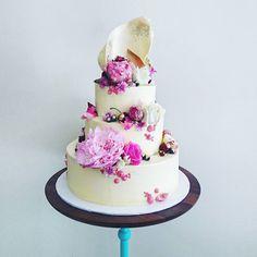 """""""Today's wedding cake..."""""""
