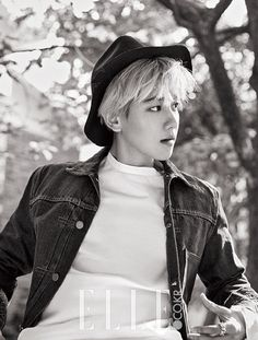 EXO Baekhyun - Elle Magazine November Issue '15
