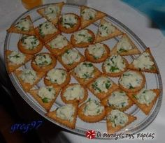 Ένα πολύ νόστιμο δροσερό  και εύκολο ντιπ Finger Food Appetizers, Finger Foods, Dips, Greek Recipes, Food Styling, Food Processor Recipes, Recipies, Food And Drink, Cooking Recipes