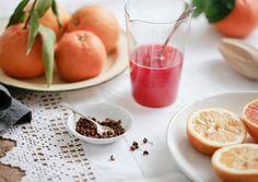 Nordljus: Seville and Blood Orange Sorbet with Sichuan Pepper