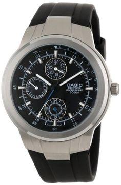 Casio Men%27s EF305-1AV Multifunction Analog Watch