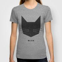Meow T-shirt | Society6